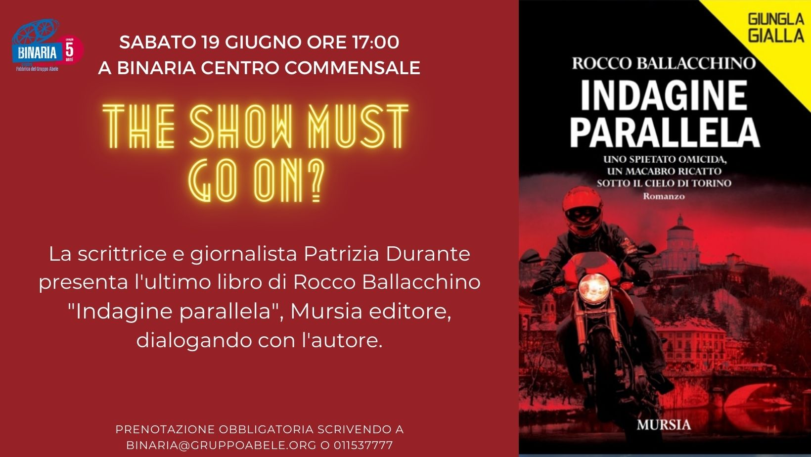Indagine parallela di Rocco Ballachhino