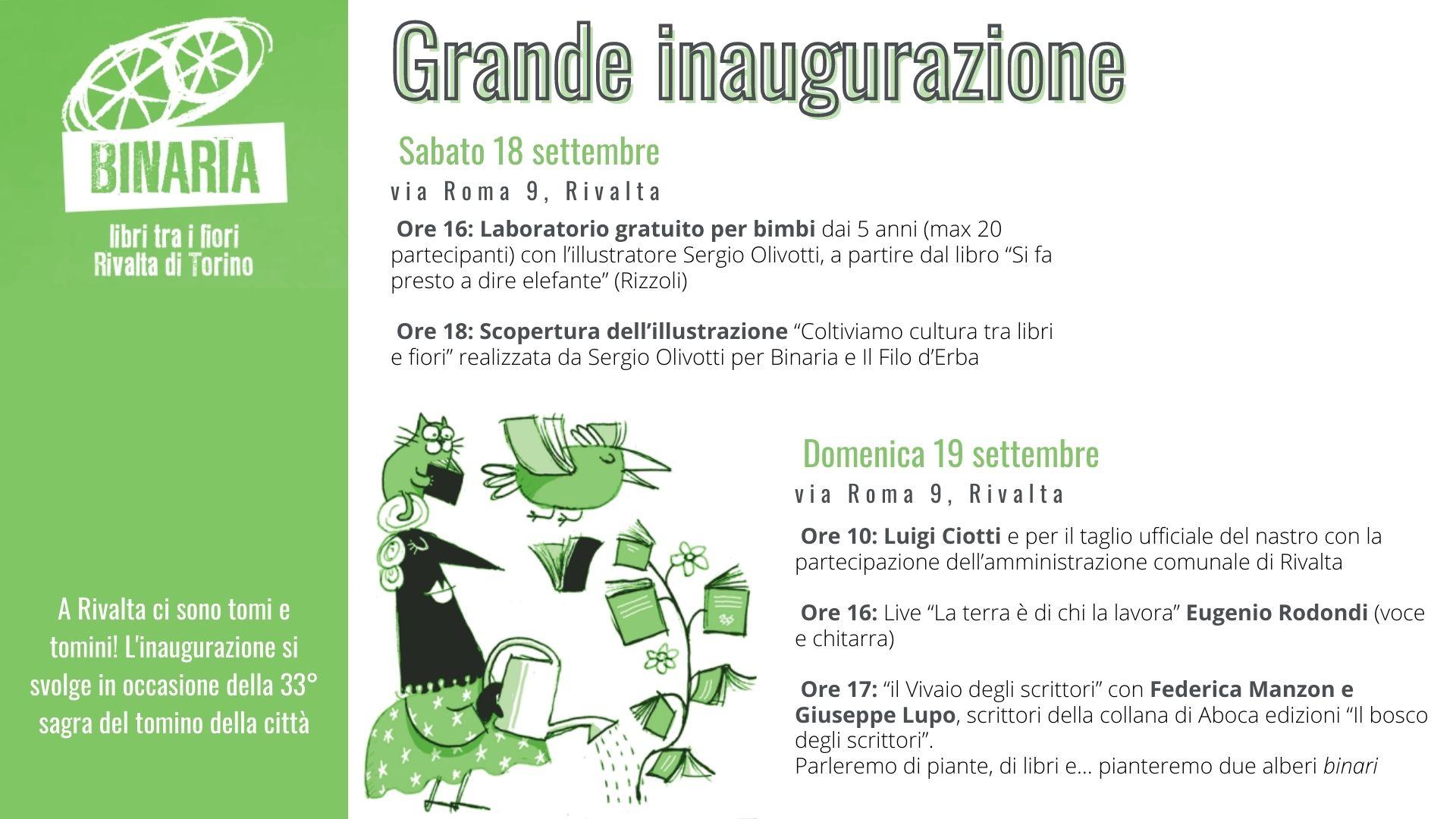 Grande inaugurazione a Rivalta