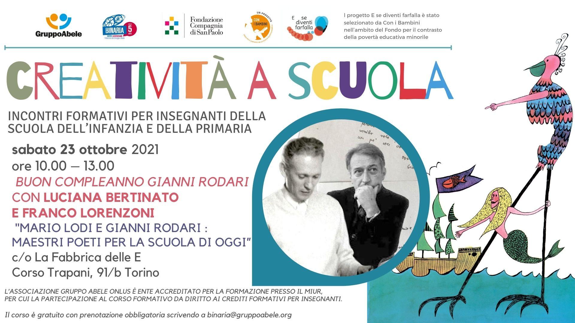 Bertinato e Lorenzoni per Gianni Rodari!